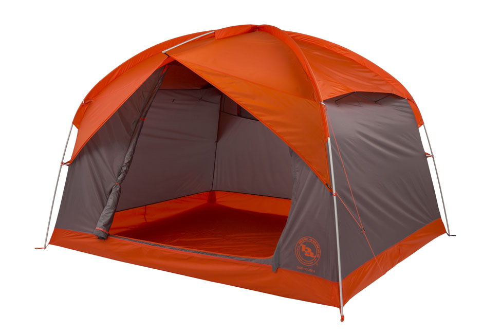 6 person family car camping tent