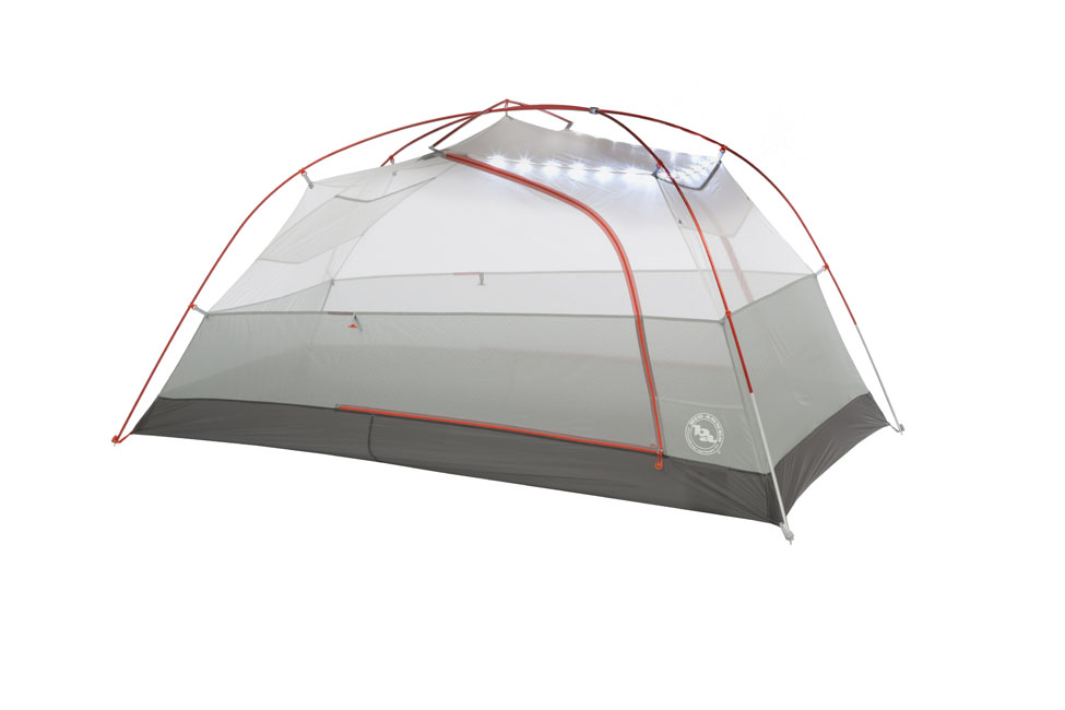 2person backpacking tent led lights