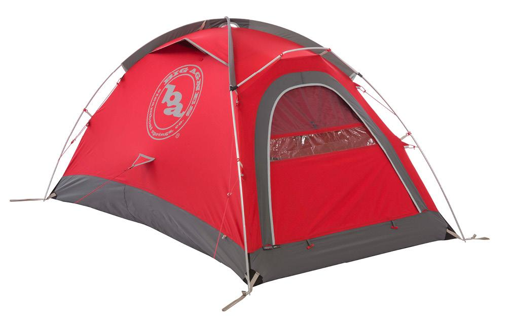 Big Agnes Shield 2 - 2-person, 4-season mountaineering tent for winter camping