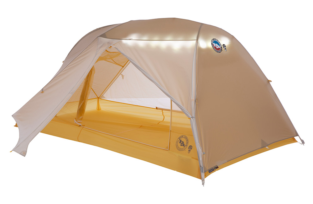 Big Agnes Tiger Wall UL2 mtnGLO® Solution Dye - 2 Person Tent
